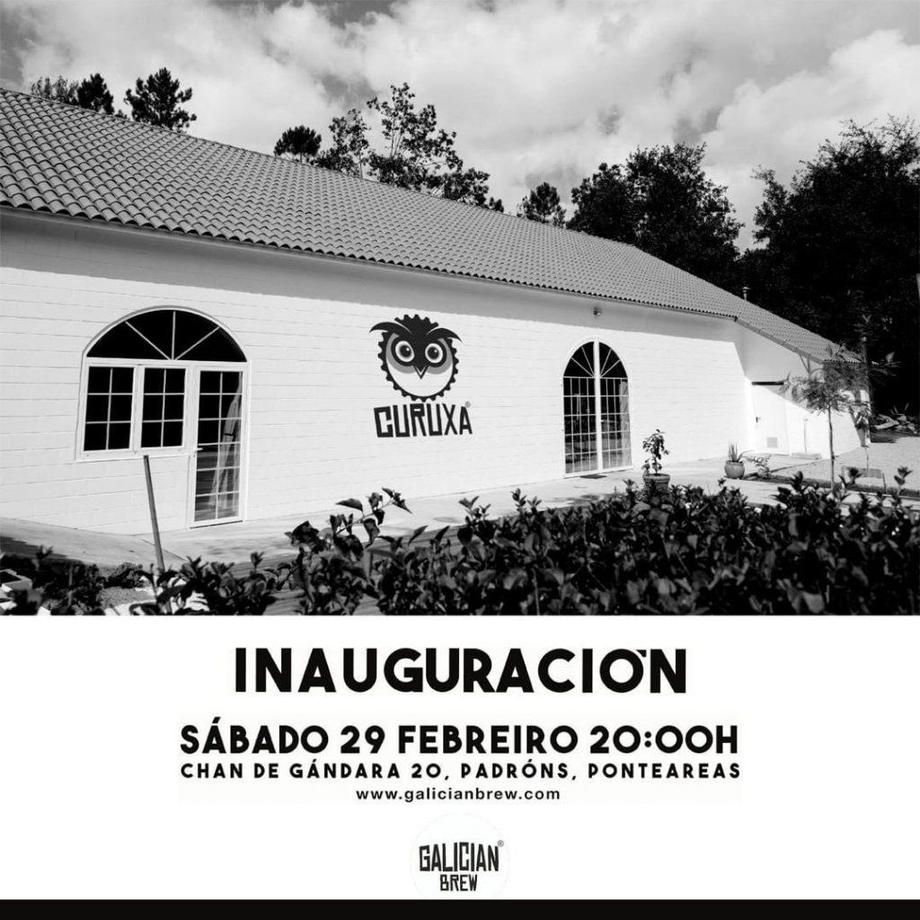 inauguracion fabrica galician brew